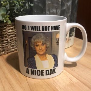 NWT golden girls Dorothy mug